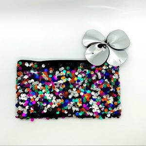 Beautiful Color Sequin MAC Cosmetic Pouch
